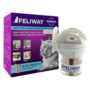Feliway Classic Starter Kit For Cats (plug-in Diffuser And 30 Day Refill) 48ml