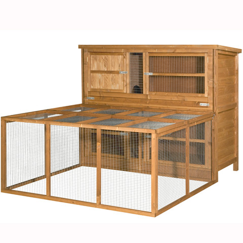 The Hutch Company Guinea Pig & Rabbit Compatible Small Animal Run 5x4x2ft