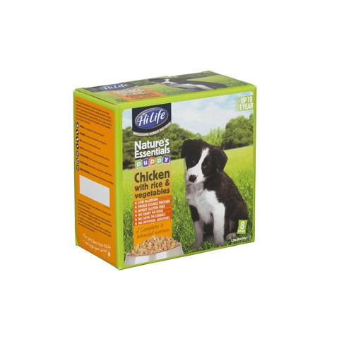 Natures Essentials Puppy Food With Chicken 8x150g