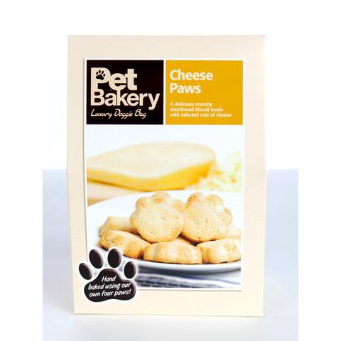 Pet Bakery Cheese Paws Shortbread Dog Treats 240g