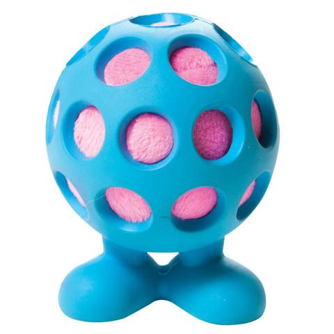 Jw Pet Hol-ee Cuz Durable Rubber Ball Dog Toy Medium