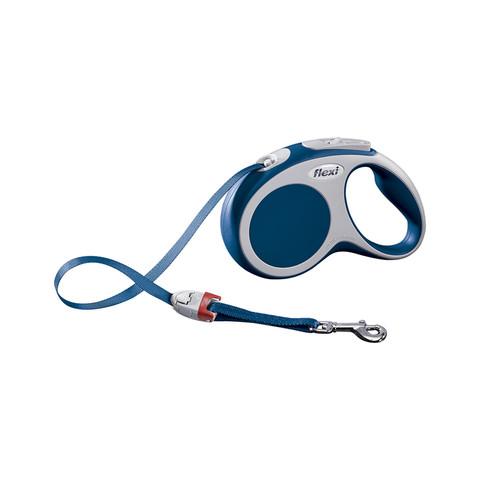 Flexi Vario Retractable Tape Dog Lead Blue - 5 Metres Small