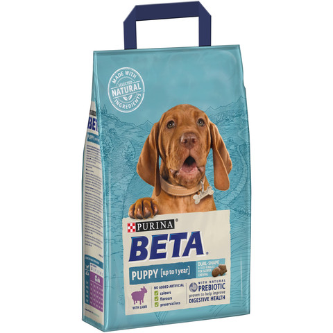 Beta Puppy Food With Lamb 2.5kg