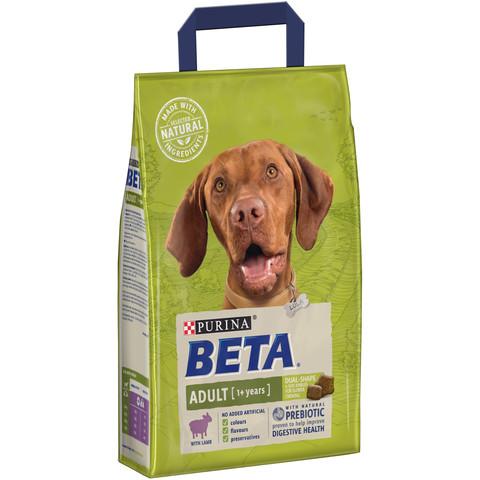 Beta Adult Dog Food With Lamb 2.5kg