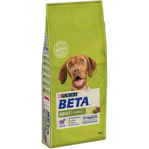 Beta Adult Dog Food With Lamb 14kg