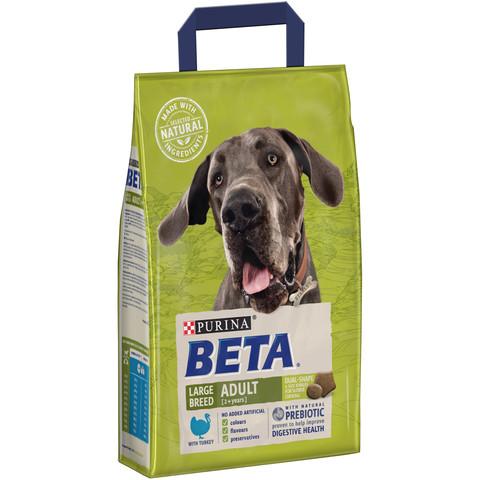 Beta Adult Large Breed Dog Food With Turkey 2.5kg