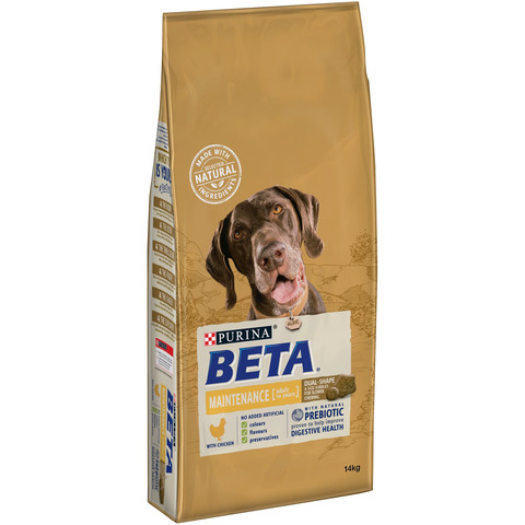 Beta Adult Pet Maintenance Dog Food With Chicken 14kg