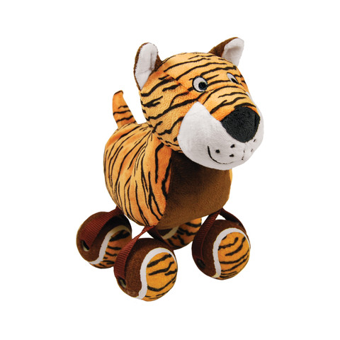 Kong Tennishoes Tiger Dog Toy Large