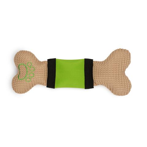 Ancol Bright Stripe Bone Dog Toy