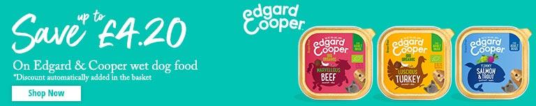 Edgard and Cooper Wet Food Banner