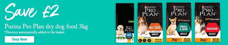 Pro Plan Dog Food Promotion Banner