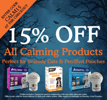 15% off all calming products