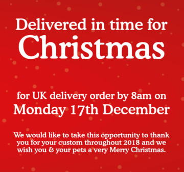 Christmas Delivery Cut Off