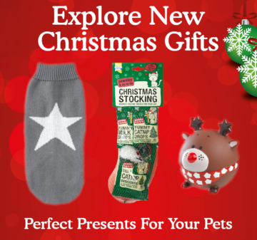 Shop our pet Christmas range