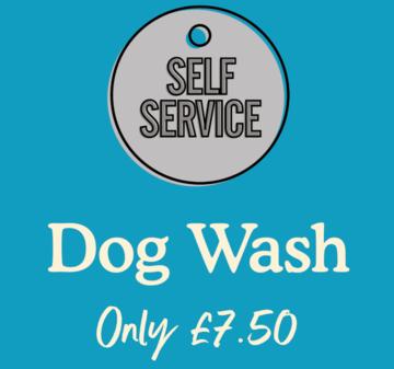 Self Service Dog Wash Pricing