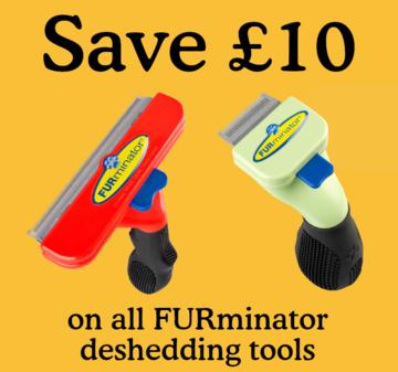 Save £10 on Furminator tools