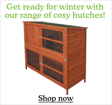 Shop Hutches for winter