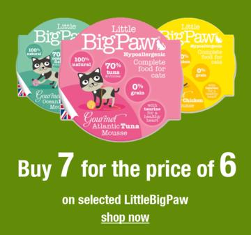 Save on Little BigPaw Range