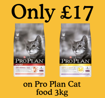 ProPlan Cat Only 17
