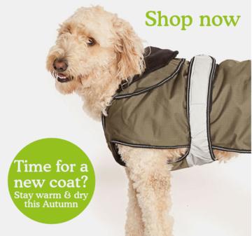 Shop dog coats & clothing