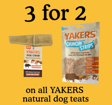 3 for 2 on all YAKERS
