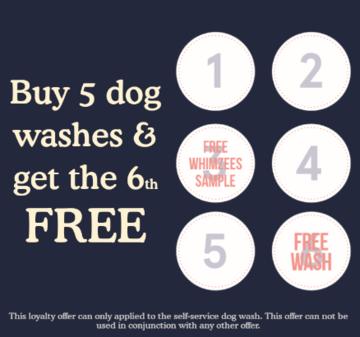 Dog Wash Loyalty Card