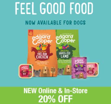 Save 20% on Edgard & Cooper