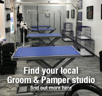 Groom & Pamper Store Locator