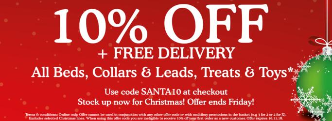 Save 10% with code SANTA10