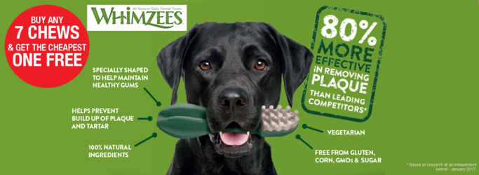 Whimzees Dog Chew Offer