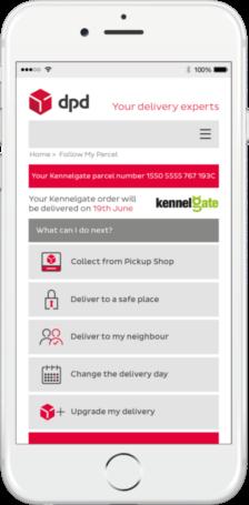 Kennelgate DPD Predict Service