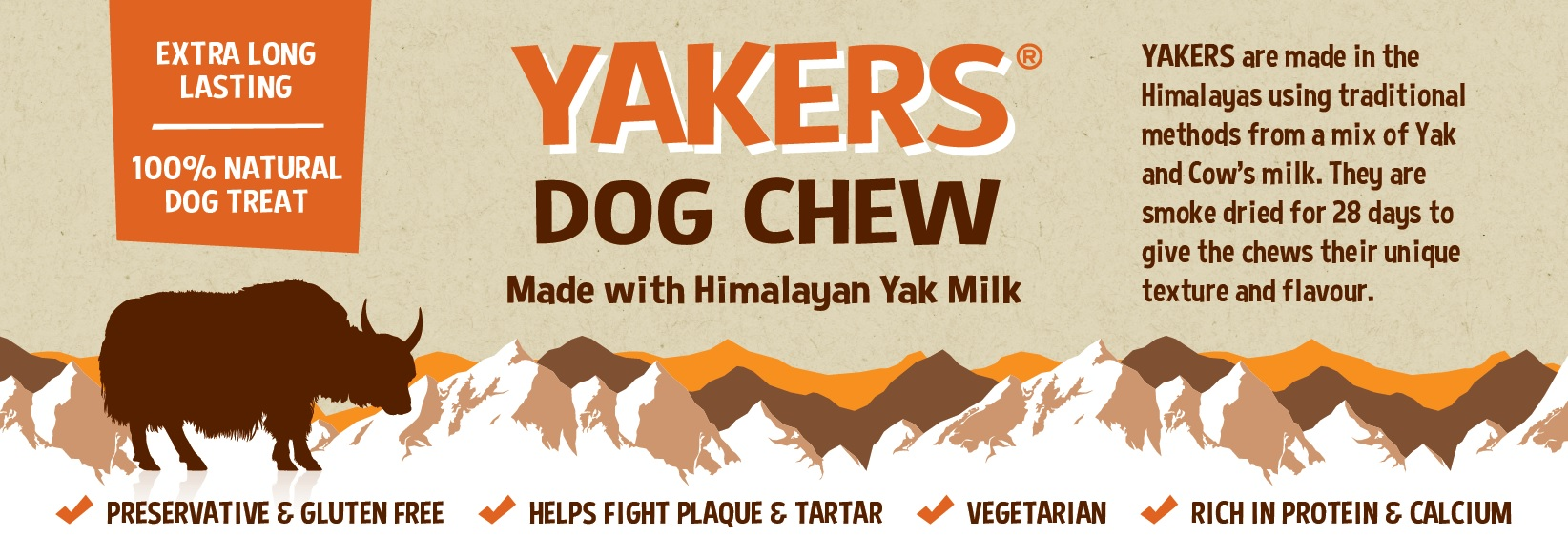 YAKERS Dog Chews