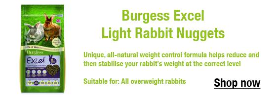 Burgess Excel Light Rabbit Nuggets