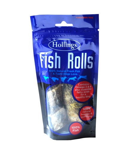 Hollings Fish Rolls Dog Treats