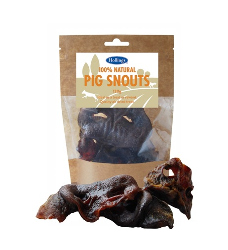 Hollings Pig Snouts Dog Treats