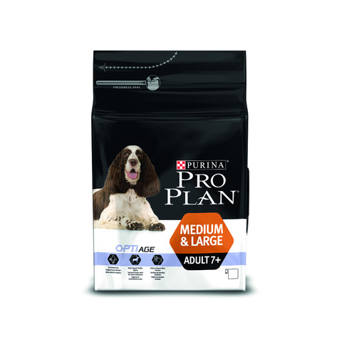 Pro Plan Medium And Large Breed Optiage Adult 7+ Dog Chicken Dog Food 3kg To 14kg