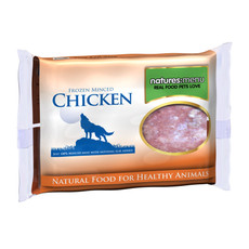Natures Menu Minced Frozen Dog Food With Chicken 400g To 12 X 400g