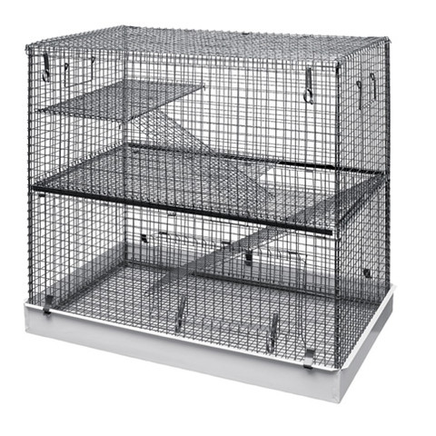 Critter 2 Storey All Metal Rat And Degu Cage Medium