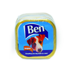 Ben Adult Original Foil Trays 6 X 3x300g