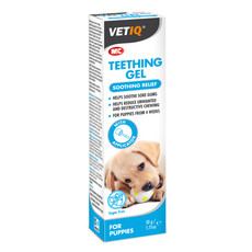 Mark And Chappell Vetiq Teething Gel For Puppies 50g