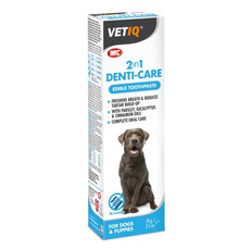 Mark And Chappell Vetiq 2 In 1 Denti Care Edible Toothpaste For Dogs 50g