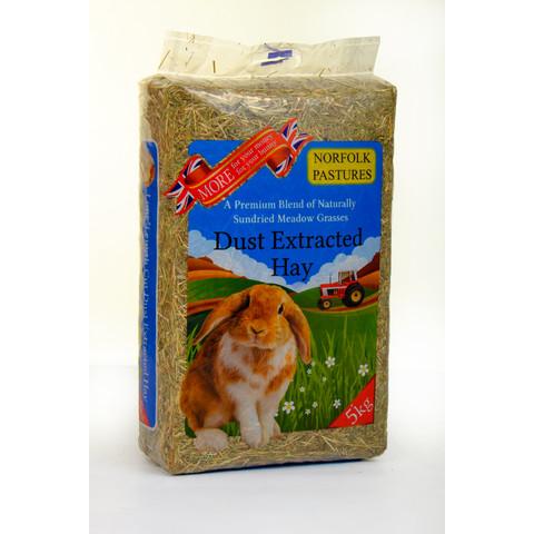 Norfolk Pastures Dust Extracted Hay Bulk/5kg