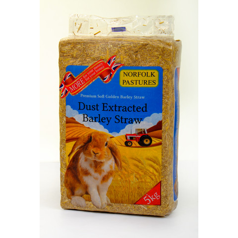 Norfolk Pastures Dust Extracted Straw Bulk/5kg