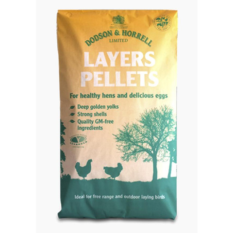 Dodson & Horrell Layers Pellets For Poultry 20kg
