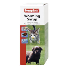 Beaphar Worming Syrup For Puppies And Kittens 45ml To 6 X 45ml