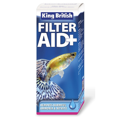 King British Filter Aid + Treatment (previously Safe Water) 100ml To 6 X 100ml