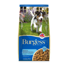 Burgess Puppy Food With Chicken 12.5kg