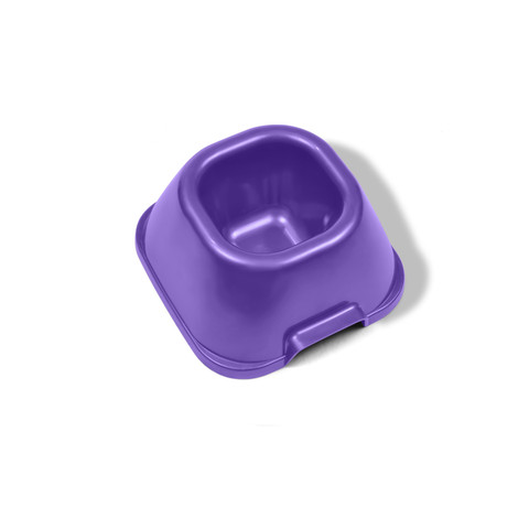 Van Ness Plastic Heavyweight Dog And Cat Bowl Small