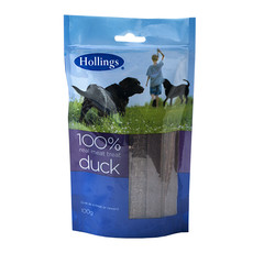 Hollings Real Meat 100% Natural Duck Dog Treat 100g