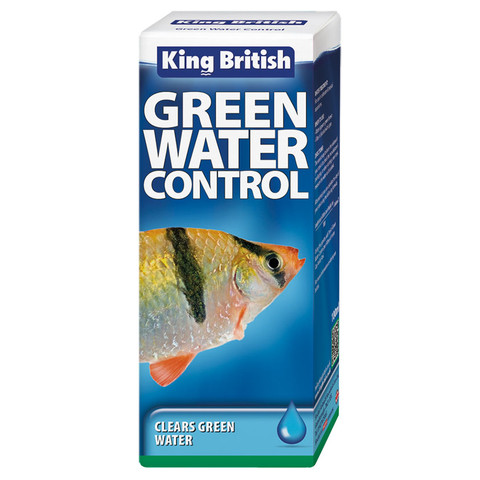King British Green Water Control Treatment 100ml To 3 X 100ml